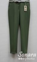 Брюки Muray&Co м.9852-166 р.38-46(44-52) зеленый