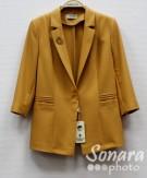 Пиджак Muray&Co м.2007-166 р.40-48(46-54) желтый