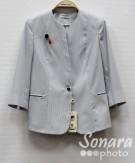 Пиджак Muray&Co м.2121-908 р.38-46(44-52) серый