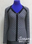 Блузка Femina м.11651 р.1-2(50-52) черный