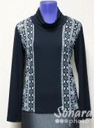 Блузка Femina м.15416 р.44(50) черный