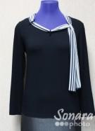 Блузка Femina м.15429 р.44-48(50-54) черный