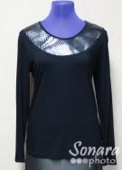 Блузка Femina м.16040 р.44-48(50-54) черный