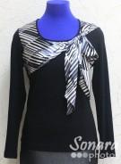 Блузка Femina м.16680 р.44-48(50-54) черный