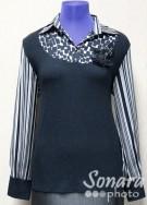 Блузка Femina м.18240 р.44-48(50-54) черный
