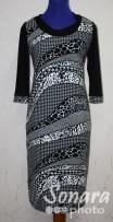 Платье Gemko м.12522 р.1-4(50-56) черный