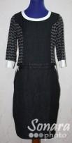 Платье Gemko м.12529 р.1,2(50,52) черный