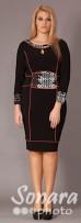 Платье Gemko м.12895 р.2-4(52-56) черный