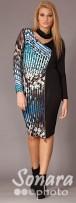 Платье Gemko м.13084 р.1-4(50-56) фиолетовый