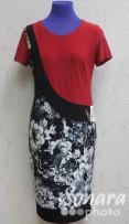 Платье Gemko м.13198 р.1-4(44-50) красный