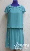 Платье Gemko м.13200 р.1-4(44-50) бирюзовый