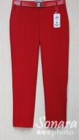 Брюки Muray&Co м.8967-740 р.38-46(44-52) красный