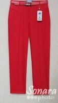 Брюки Muray&Co м.9414-740 р.38-48(44-54) красный