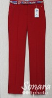 Брюки Muray&Co м.9628-857 р.38-46(44-52) красный