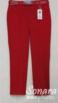 Брюки Muray&Co м.9649-857 р.40-48(46-54) красный