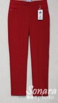 Брюки Muray&Co м.9654-857 р.38-46(44-52) красный