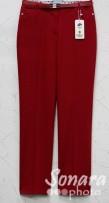 Брюки Muray&Co м.9751-857 р.38-46(44-52) красный
