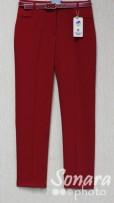 Брюки Muray&Co м.9753-857 р.38-46(44-52) красный