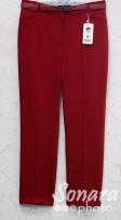 Брюки Muray&Co м.9820-199 р.42-50(48-56) красный
