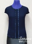 Блузка Egeline м.3926 р.38-44(44-50) синий