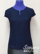 Блузка Egeline м.4121 р.38-44(44-50) синий