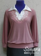 Блузка Fellinaz м.1190 р.2-6(44-52)розовый