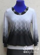 Блузка Fellinaz м.430 р.2-6 (44-52) черный