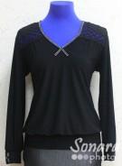 Блузка Fellinaz м.492 р.2-4(44-48) черный