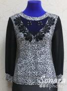 Блузка Fellinaz м.534 р.2-6 (44-52) черный