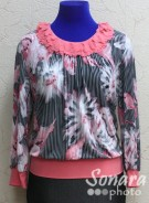 Блузка Fellinaz м.660 р.2-6 (44-52) розовый