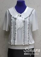 Блузка Fellinaz м.819 р.2-6(44-52) бежевый
