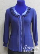 Блузка Fellinaz м.893 р.2-6(44-52) синий