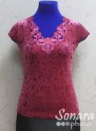 Блузка Fellinaz м.9014 р.2-4(44-48) розовый