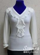 Блузка Fellinaz м.904 р.2-6(44-52) бежевый