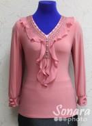 Блузка Fellinaz м.904 р.2-6(44-52) розовый
