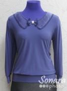 Блузка Fellinaz м.916 р.2-6 (44-52) синий