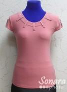 Блузка Fellinaz м.952 р.2-6(44-52) розовый