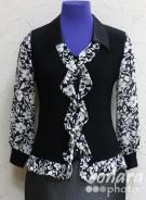Блузка Fellinaz м.971 р.2-6(44-52) синий,черный