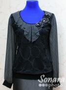 Блузка Fomanta м.3053 р.44(50) черный