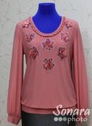 Блузка Fomanta м.3168 р.44-50(50-56) розовый