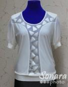 Блузка Fomanta м.3231 р.46,48(52,54)бежевый