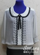 Блузка Fomanta м.3423 р.44-50(50-56) белый