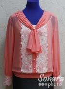 Блузка Fomanta м.3436 р.44-50(50-56) розовый