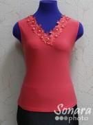 Блузка Fomanta м.3443 р.42,44,50(48,50,56) розовый