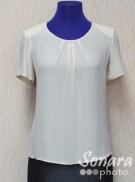 Блузка Fomanta м.3981 р.42-48(48-54) персик
