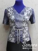 Блузка Fomanta м.7001 р.44,46(50,52) лиловый