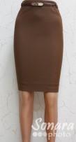 Юбка Muray&Co м1716-768 р.42-46(48-52) коричневый