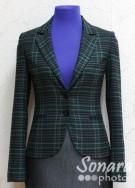 Пиджак Muray&Co м.2337-821 р.46(52) зеленый,1200руб