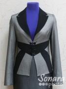 Пиджак Muray&Co м.5999-678 р.40-44(46-50)серый