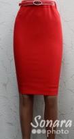 Юбка Muray&Co м.6728-970 р.38-46(44-52) красный